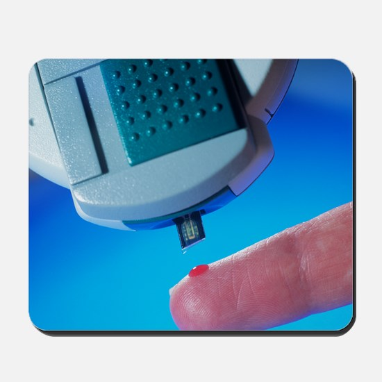 Blood glucose tester Mousepad