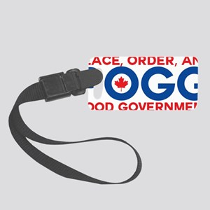 Peace, Order, and Good Governmen Small Luggage Tag