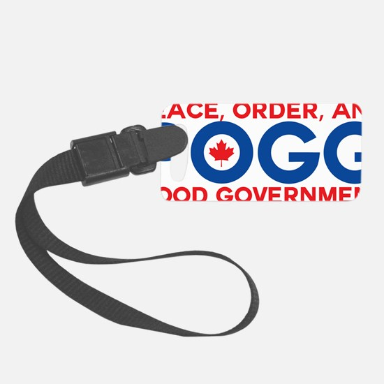 Peace, Order, and Good Governmen Luggage Tag