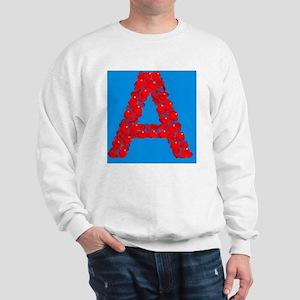 Blood group A Sweatshirt