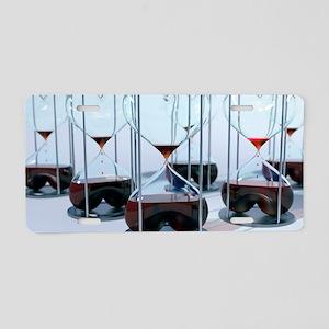 Blood bank, conceptual artw Aluminum License Plate