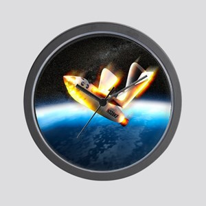 SpaceShipOne re-entry Wall Clock