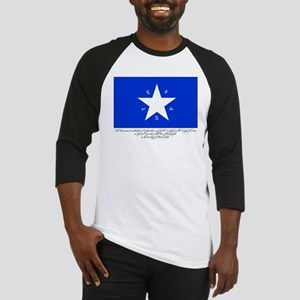 Texas Flag with Declaration Baseball Jersey