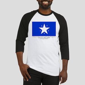 Texas Flag with Declaration Baseball Jersey