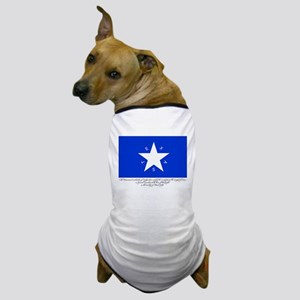 Texas Flag with Declaration Dog T-Shirt