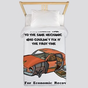 Vote For Economic Recovery Twin Duvet