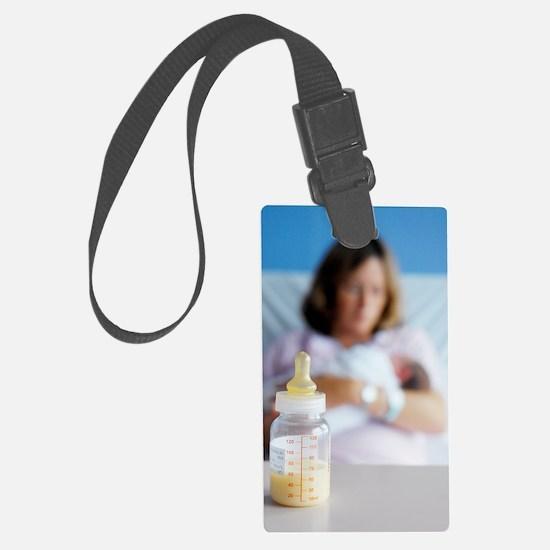 Bottle of breast milk Luggage Tag