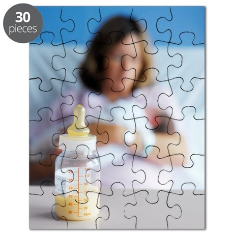 Bottle of breast milk Puzzle