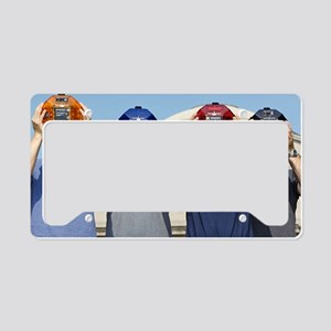 SPHERES miniature satellites License Plate Holder