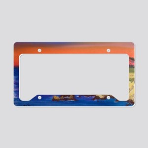 Lovers Point Monterey License Plate Holder