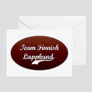 Team Lapphund Greeting Cards (Pk of 10)