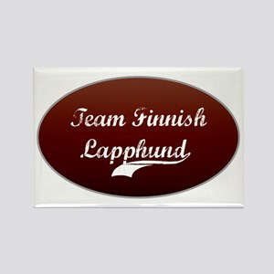 Team Lapphund Rectangle Magnet