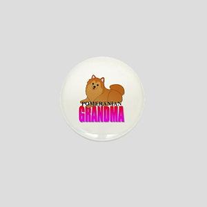 Pomeranian Grandma Mini Button