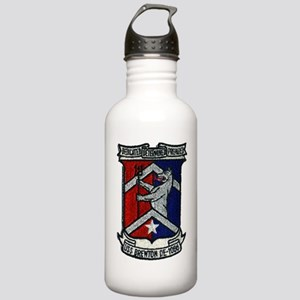 uss brewton de patch t Stainless Water Bottle 1.0L