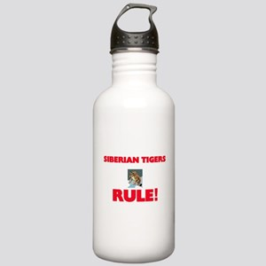 Siberian Tigers Rule! Stainless Water Bottle 1.0L