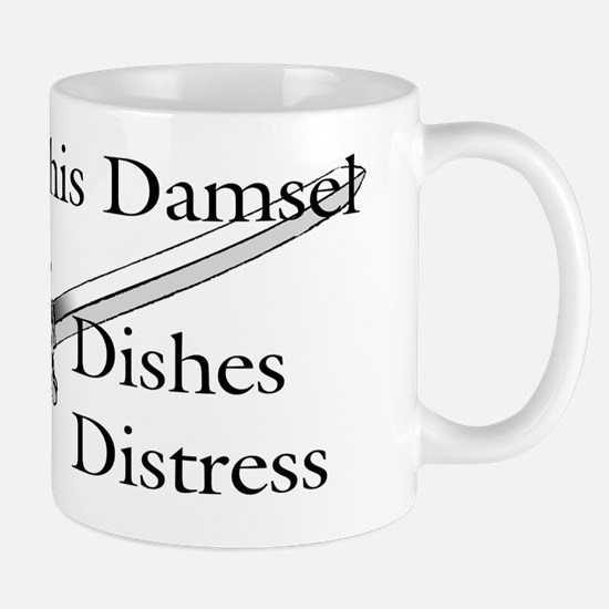 This damsel dishes distress Mug