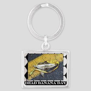 dead banana day Landscape Keychain