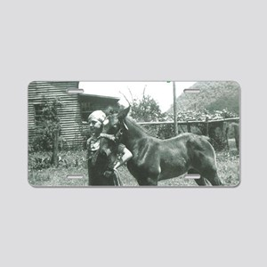 Every Horse Needs a Boy Aluminum License Plate