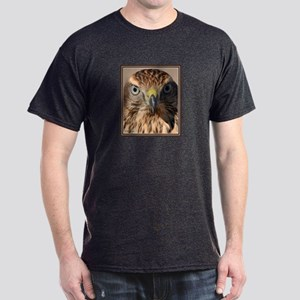 Redtail Hawk Charcoal T-Shirt