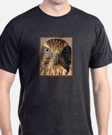Redtail Hawk Charcoal T-Shirt