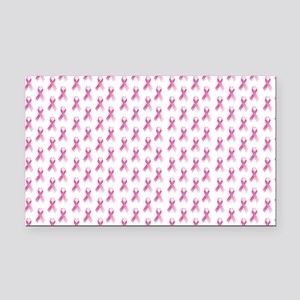Breast Cancer Awareness Pink  Rectangle Car Magnet