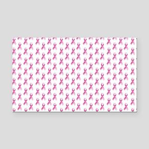 Breast Cancer Awareness Pink  Rectangle Car Magnet