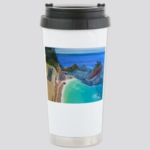 McWay Falls Big Sur Stainless Steel Travel Mug