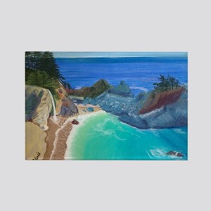 McWay Falls Big Sur Rectangle Magnet