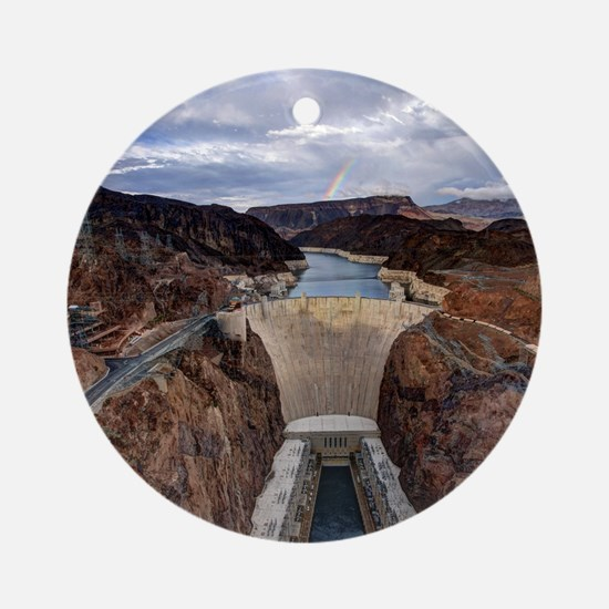 Large Hoover Dam Round Ornament