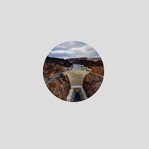 Large Hoover Dam Mini Button