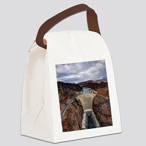 Large Hoover Dam Canvas Lunch Bag