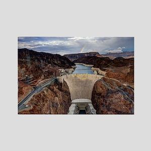 Large Hoover Dam Rectangle Magnet