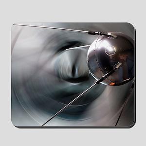 Sputnik 1 satellite Mousepad
