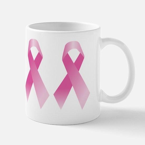 Breast Cancer Awareness Pink Ribbon Mug