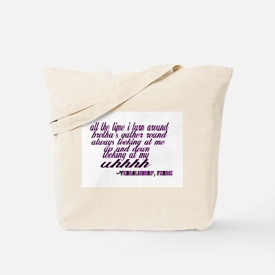 Fergalicious Tote Bag