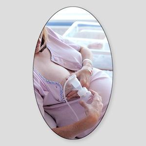 Breast pump Sticker (Oval)
