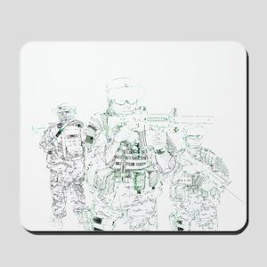 Hardcore Airsoft Mousepad