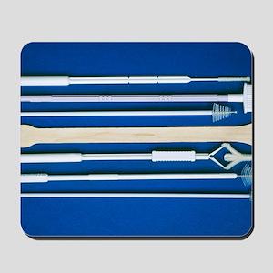 Cervical smear spatulas Mousepad