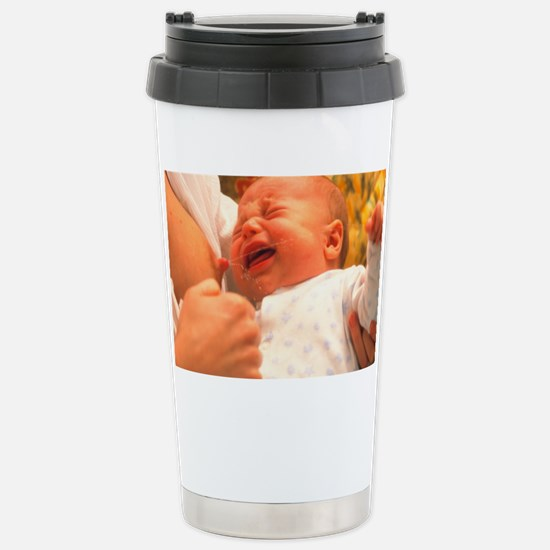 Breast-feeding: baby's crying c Stainless Steel Tr