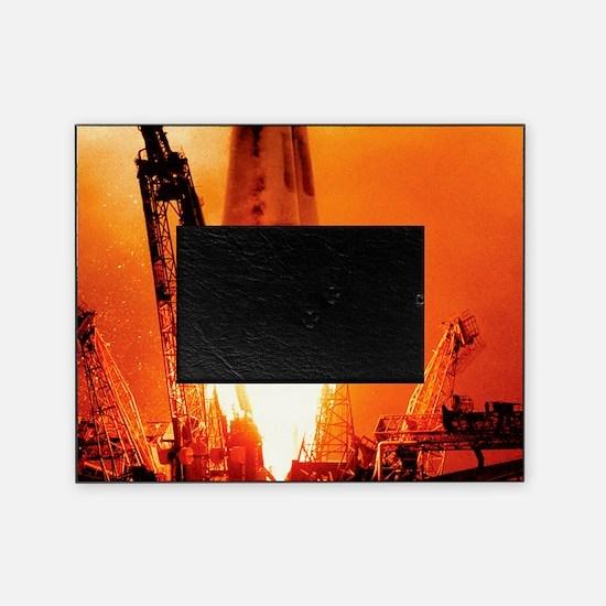 Sputnik 1 launch Picture Frame