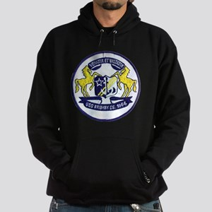 uss brumby de patch transparent Hoodie (dark)