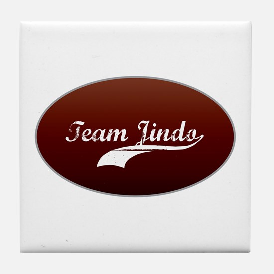 Team Jindo Tile Coaster