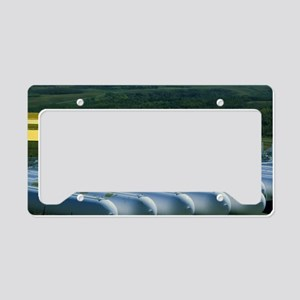 Stored natural gas License Plate Holder