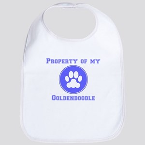 Property Of My Goldendoodle Bib