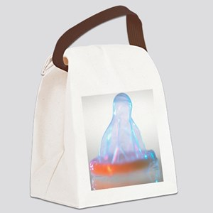 Condom Canvas Lunch Bag
