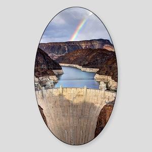 Hoover Dam Sticker (Oval)
