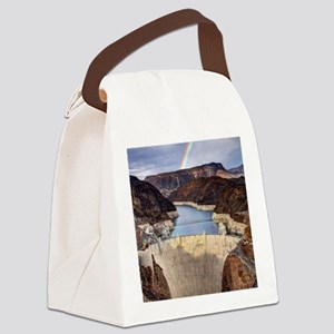 Hoover Dam Canvas Lunch Bag