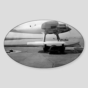 Supermarine Napier S4 seaplane, 192 Sticker (Oval)