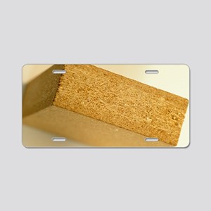 Straw particleboard Aluminum License Plate