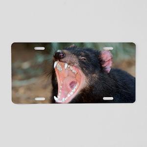 Tasmanian devil Aluminum License Plate
